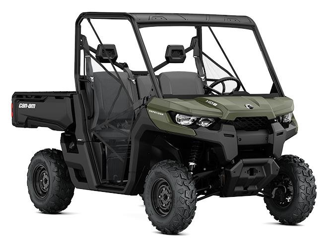 2017 Can-Am Defender HD8 Convenience in Enfield, Connecticut