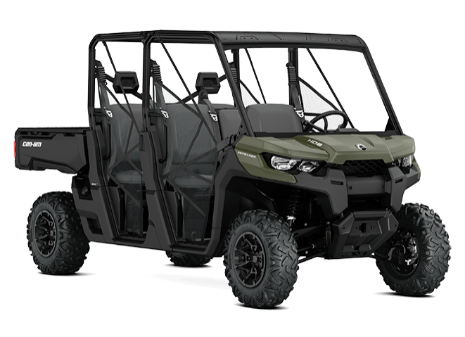 2018 Can-Am Defender MAX HD8 in Broken Arrow, Oklahoma