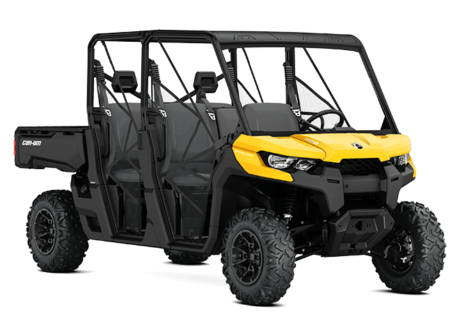 2017 Can-Am Defender MAX DPS HD10 in Seiling, Oklahoma