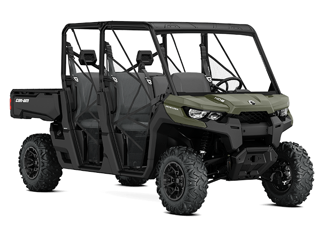2017 Can-Am Defender MAX DPS HD8 in De Forest, Wisconsin