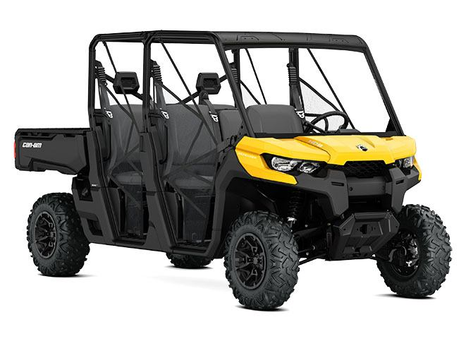 2017 Can-Am Defender MAX DPS HD8 in Jones, Oklahoma