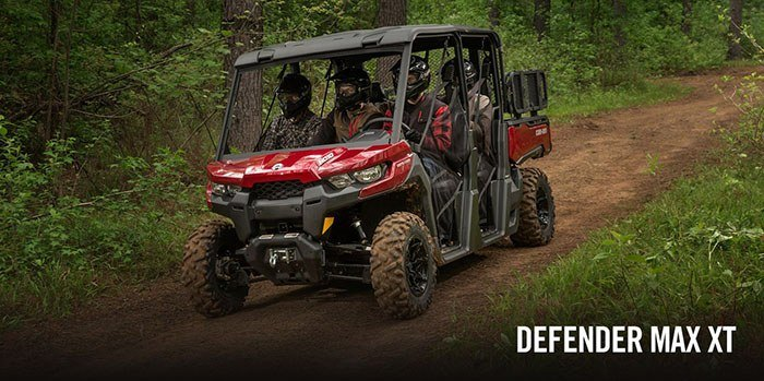 2017 Can-Am Defender MAX XT HD8 in Middletown, New Jersey