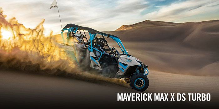 2017 Can-Am Maverick MAX Turbo in Huntington, West Virginia