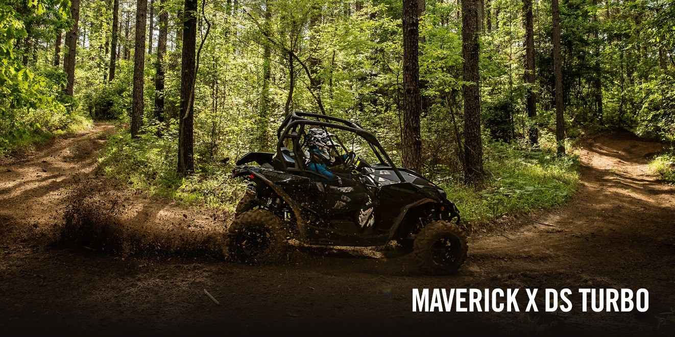 2017 Can-Am Maverick MAX X ds Turbo in Port Angeles, Washington