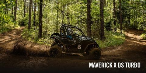 2017 Can-Am Maverick MAX X ds Turbo in Adams Center, New York