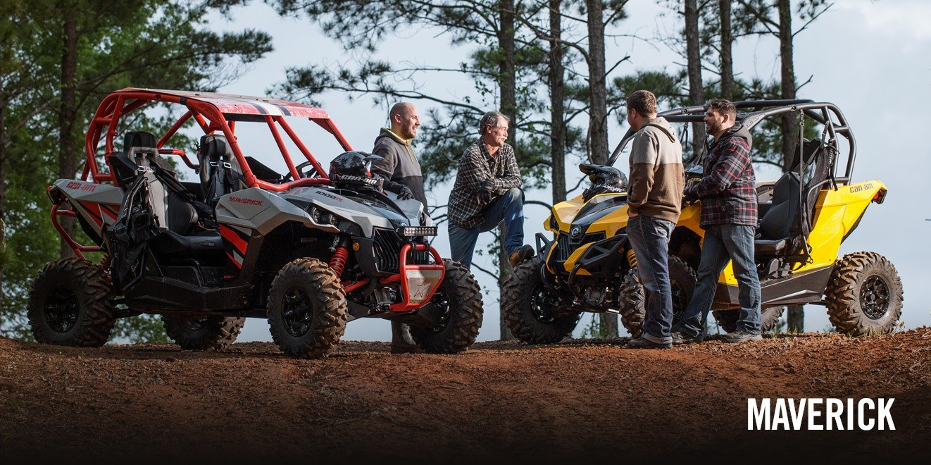 2017 Can-Am Maverick MAX X mr in Presque Isle, Maine