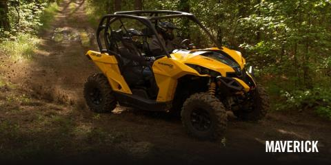 2017 Can-Am Maverick Turbo in Presque Isle, Maine