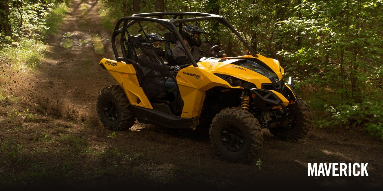 2017 Can-Am Maverick Turbo in Augusta, Maine