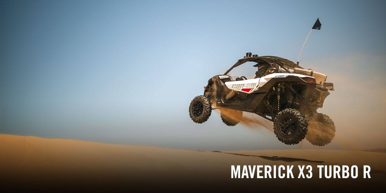 2017 Can-Am Maverick X3 Turbo R in Corona, California