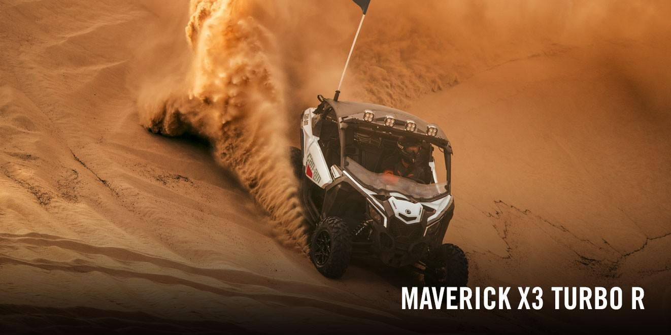 2017 Can-Am Maverick X3 Turbo R in Augusta, Maine