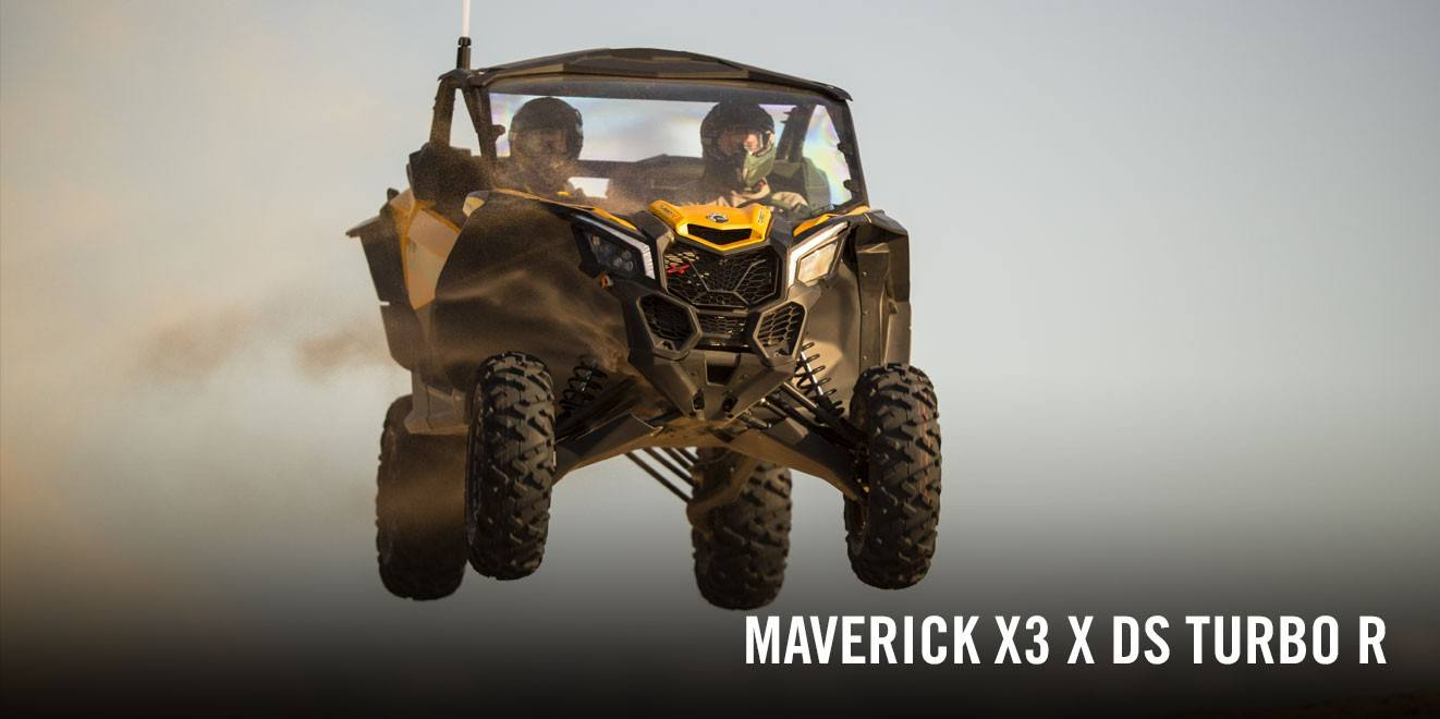 2017 Can-Am Maverick X3 X ds Turbo R in Hanover, Pennsylvania