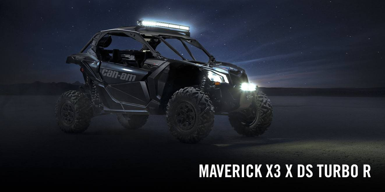 2017 Can-Am Maverick X3 X ds Turbo R in Cartersville, Georgia