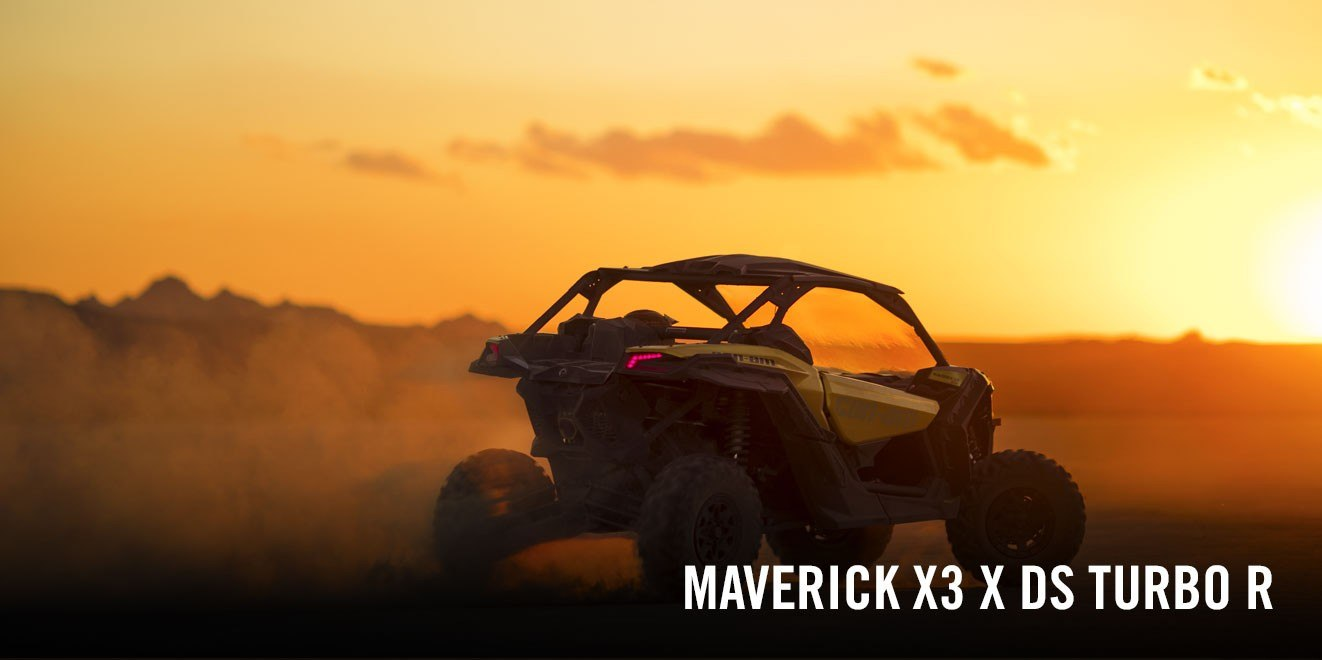 2017 Can-Am Maverick X3 X ds Turbo R in Castaic, California