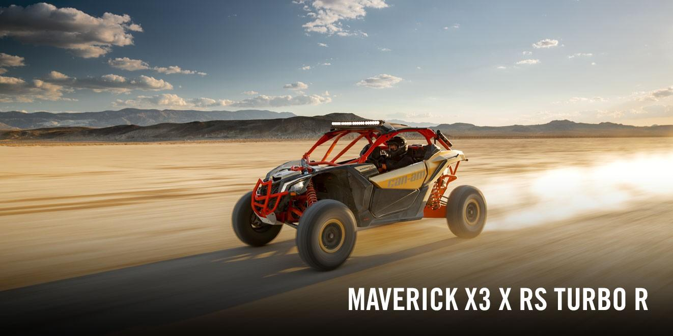 2017 Can-Am Maverick X3 X rs Turbo R in Findlay, Ohio