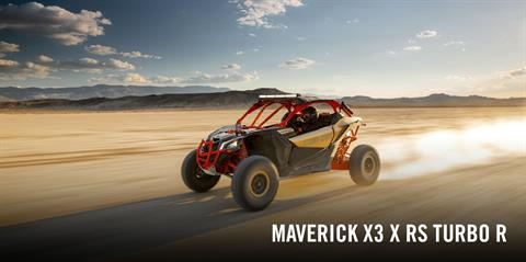 2017 Can-Am Maverick X3 X rs Turbo R in Bennington, Vermont