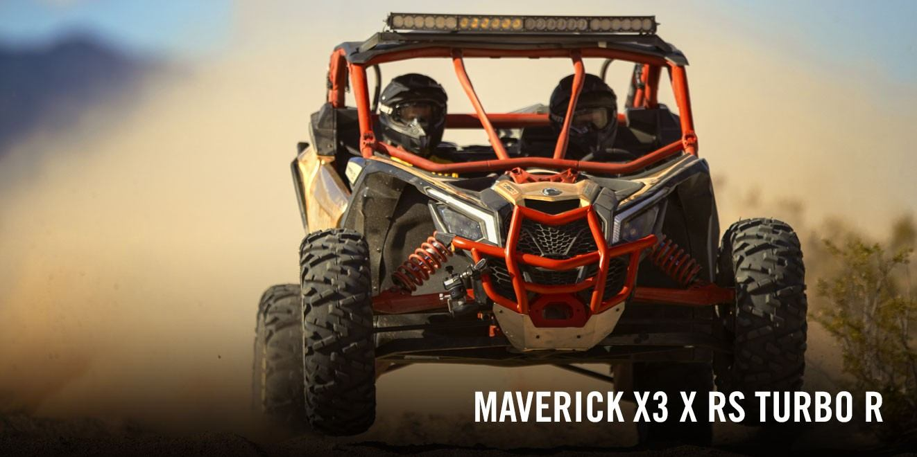 2017 Can-Am Maverick X3 X rs Turbo R in Safford, Arizona