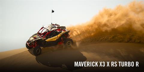 2017 Can-Am Maverick X3 X rs Turbo R in Hollister, California