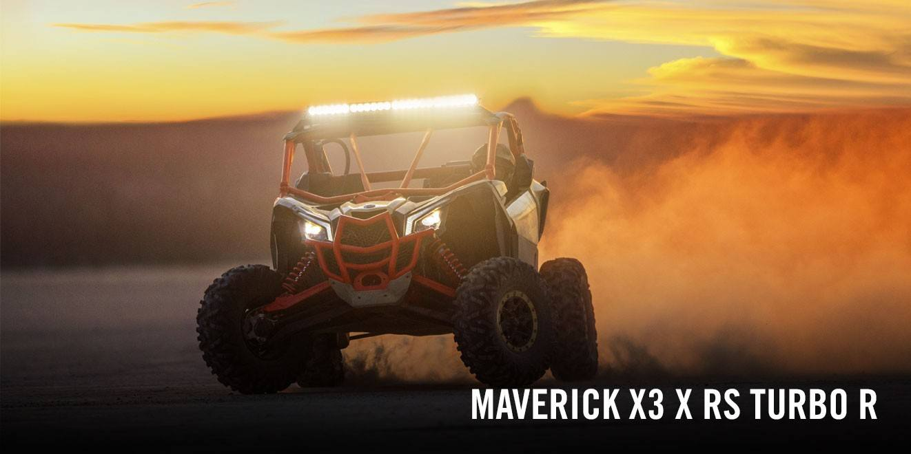 2017 Can-Am Maverick X3 X rs Turbo R in Augusta, Maine