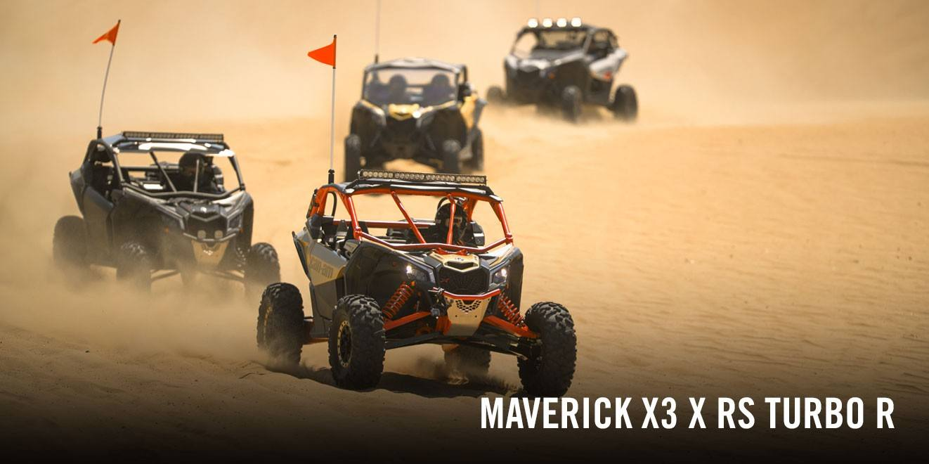 2017 Can-Am Maverick X3 X rs Turbo R in Brooksville, Florida