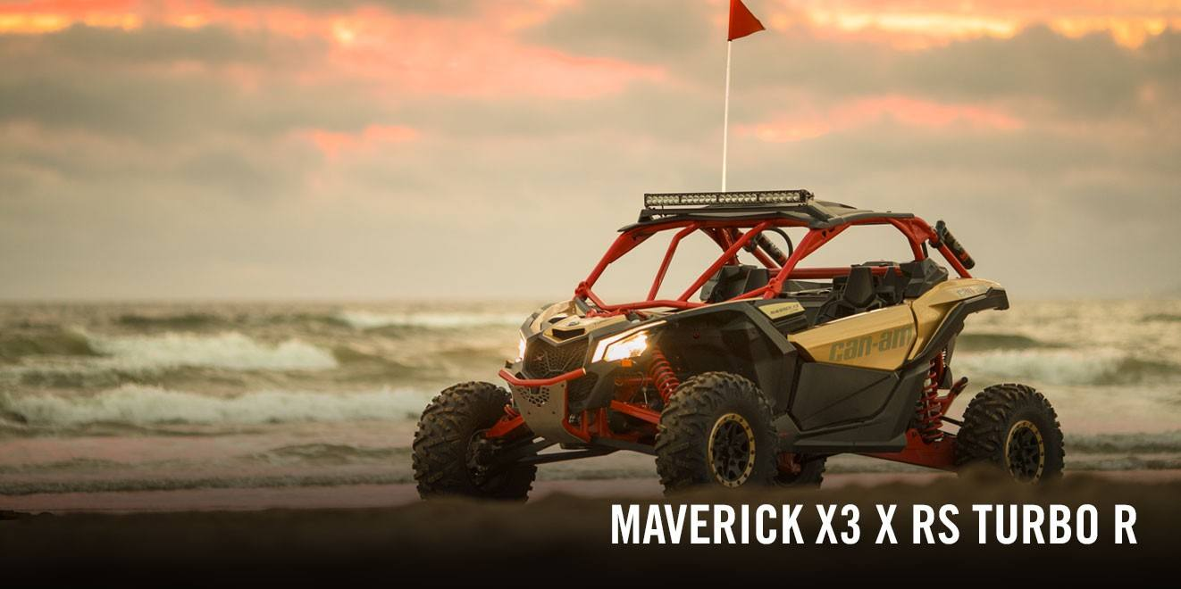 2017 Can-Am Maverick X3 X rs Turbo R in Victorville, California