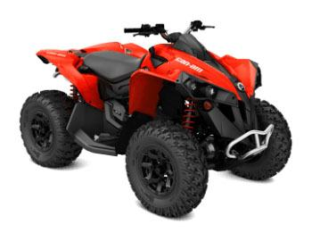 2018 Can-Am Renegade 570 in Barre, Massachusetts