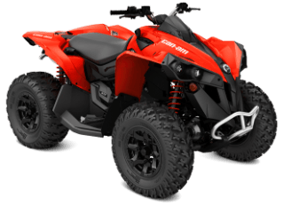 2018 Can-Am Renegade 850 in Baldwin, Michigan