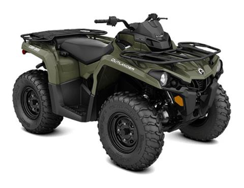 2018 Can-Am Outlander 450 in Land O Lakes, Wisconsin