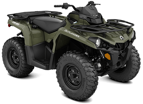 2018 Can-Am Outlander 570 in Lancaster, New Hampshire
