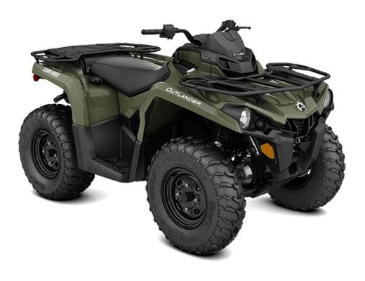 2018 Can-Am Outlander 570 in Leland, Mississippi