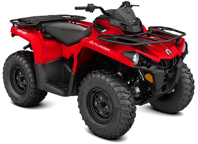 2018 Can-Am Outlander 570 in Bennington, Vermont