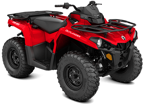 2018 Can-Am Outlander 570 in Hillman, Michigan