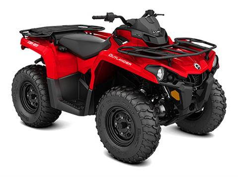 2018 Can-Am Outlander 570 in Land O Lakes, Wisconsin