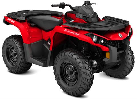 2018 Can-Am Outlander 650 in Kittanning, Pennsylvania