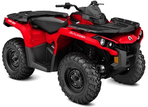 2018 Can-Am Outlander 650 in Baldwin, Michigan