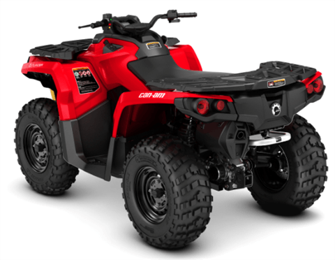 2018 Can-Am Outlander 650 in Atlantic, Iowa