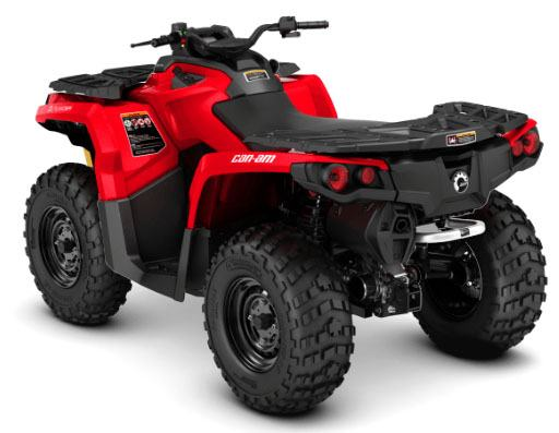 2018 Can-Am Outlander 650 in Barre, Massachusetts