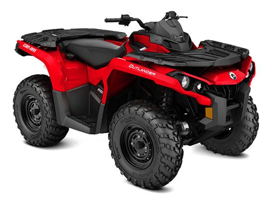 2018 Can-Am Outlander 650 in Colebrook, New Hampshire