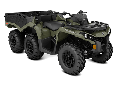 2018 Can-Am Outlander 6x6 DPS in Barre, Massachusetts