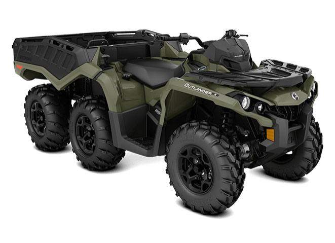 2018 Can-Am Outlander 6x6 DPS 650 in Barre, Massachusetts