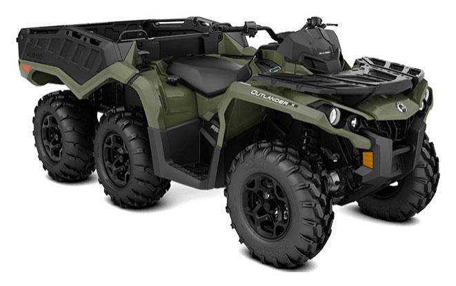2018 Can-Am Outlander 6x6 DPS 650 in Waterbury, Connecticut
