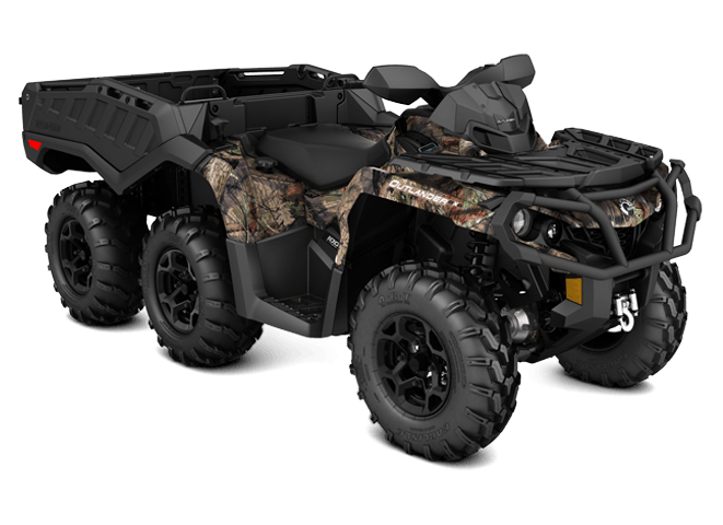 2018 Can-Am Outlander 6x6 XT 1000R in Paso Robles, California