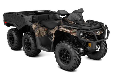 2018 Can-Am Outlander 6x6 XT 1000R in Goldsboro, North Carolina