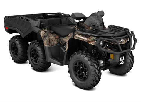 2018 Can-Am Outlander 6x6 XT 1000R in Barre, Massachusetts