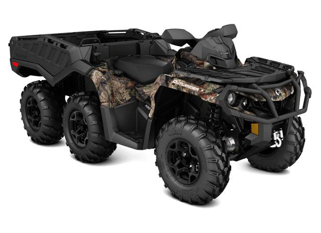 2018 Can-Am Outlander 6x6 XT 1000R in Wilmington, Illinois