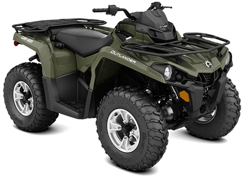 2018 Can-Am Outlander DPS 450 in Hollister, California