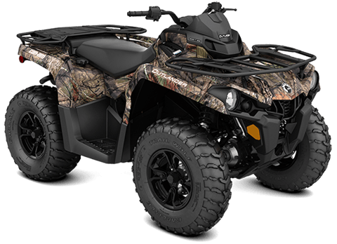 2018 Can-Am Outlander DPS 450 in Barre, Massachusetts