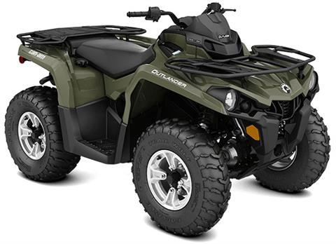 2018 Can-Am Outlander DPS 570 in Barre, Massachusetts