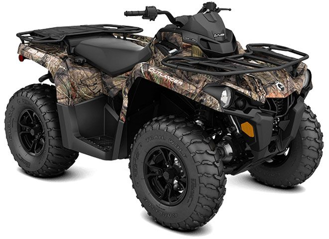 2018 Can-Am Outlander DPS 570 in Paso Robles, California