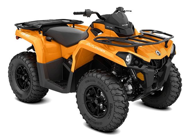 2018 Can-Am Outlander DPS 570 in Castaic, California