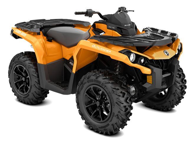 2018 Can-Am Outlander DPS 570 in Colebrook, New Hampshire